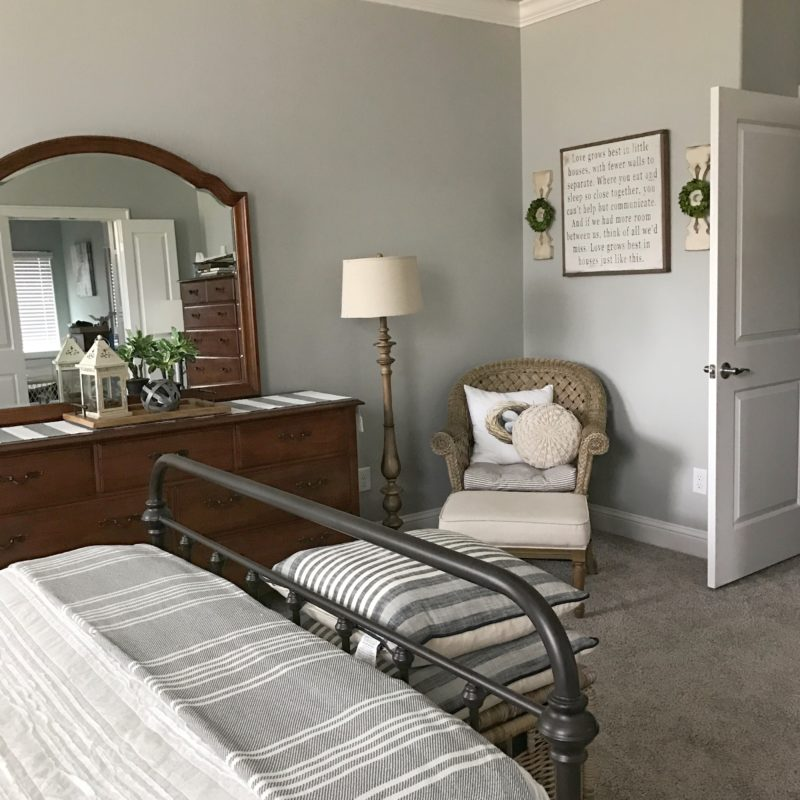 modern farmhouse master bedroom reveal and reasons why I love my ...