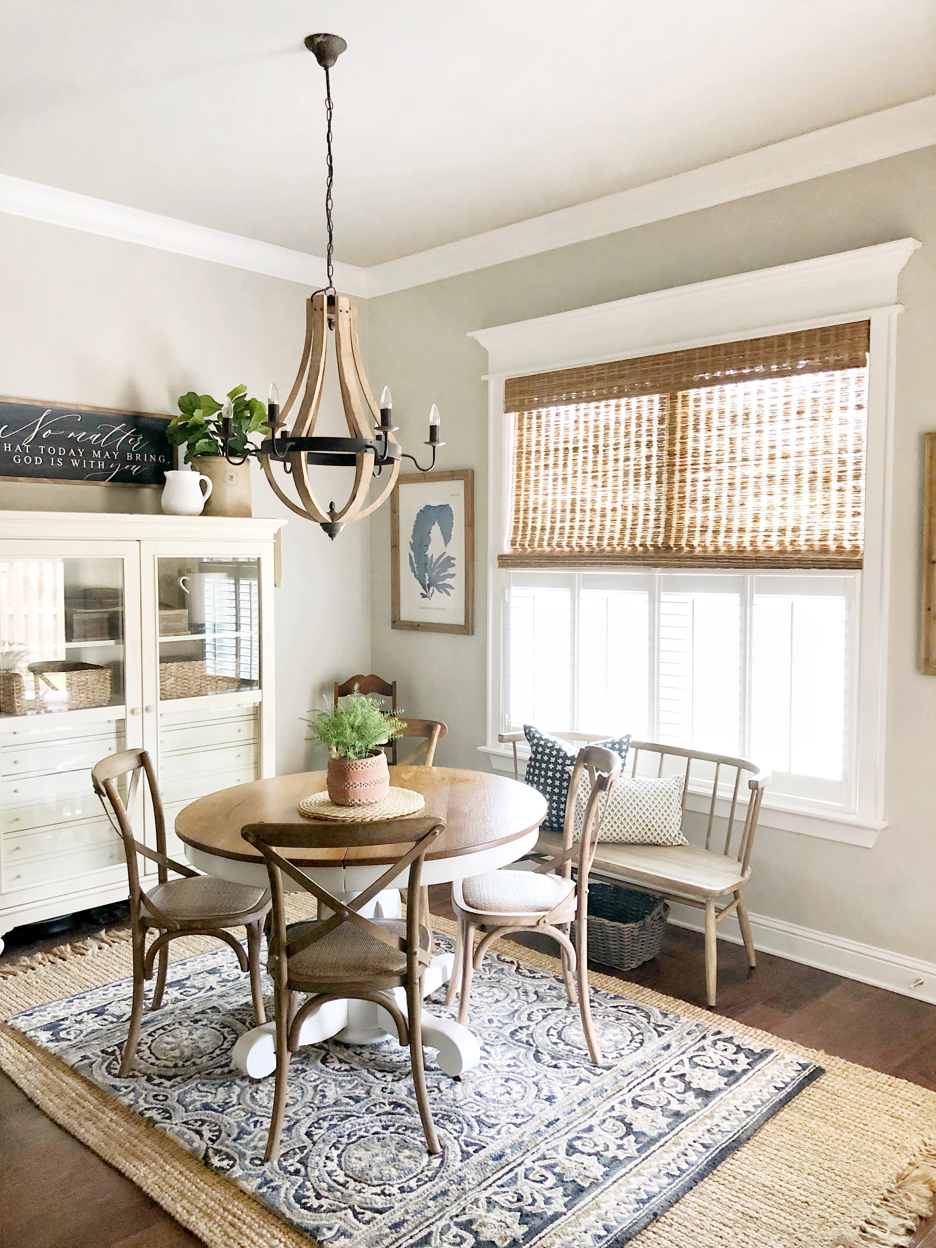 Enhancing Our Home With Cafe Shutters - Our Vintage Nest
