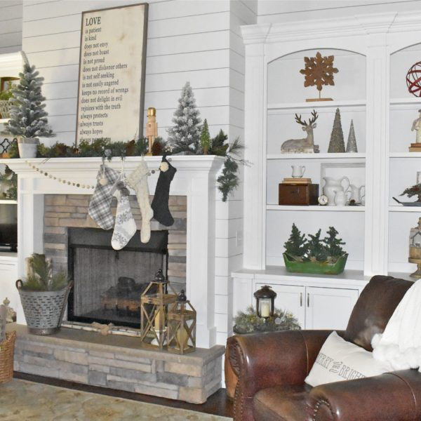 Holiday Living Room Tour