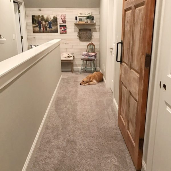 How To Add Character and Contrast To A Boring Hallway