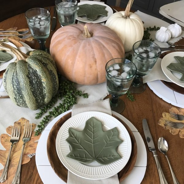 Our Thanksgiving Tablescapes